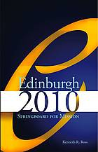 Photo of Edinburgh 2010: Springboard for Mission